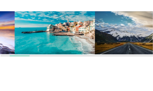 WordPress Gallery - Horizontal Scroll